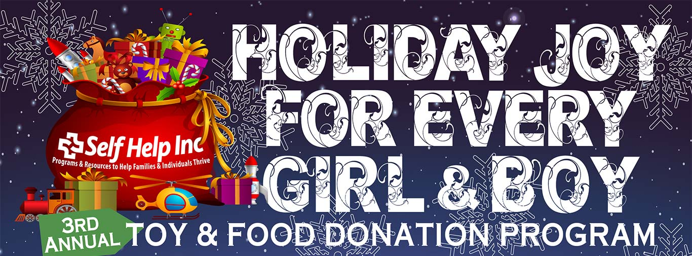 Holiday Joy for Every Girl and Boy Toy and Food Donation Program